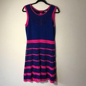 Nanette Lepore Runway Class Flirt Knit Dress M